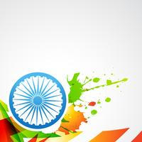 Indiens flagga