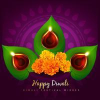 Vektor Diwali Diya