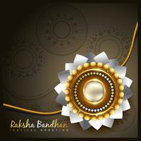 Fondo de vector rakhi