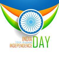 vektor indisk flagg bakgrund