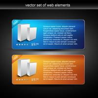 webbproduktdisplay och försäljningsobjekt