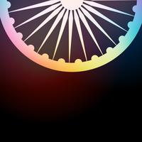indischer Flagge Hintergrund