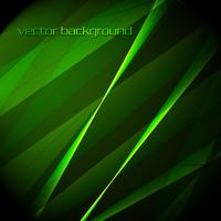 Beautiful vector green background