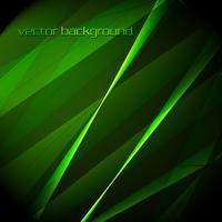 Fundo verde lindo vector