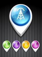 ícone da torre de sinal