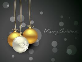 bolas de navidad vector