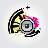 speaker abstract vector