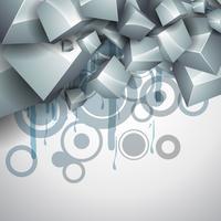 cube vecteur élégant