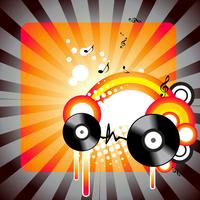 stilvolle Musikgrafik