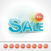 Vektor Verkauf Hintergrund