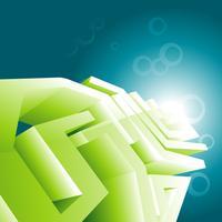 Fondo de pantalla de diseño de tecnología verde