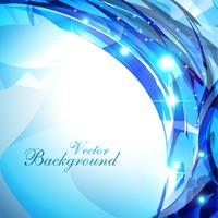 glanzende blauwe achtergrond