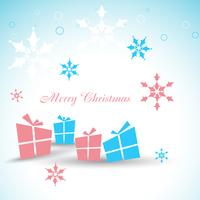 vector kerstcadeau