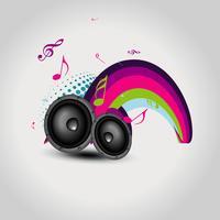 vektor högtalare design