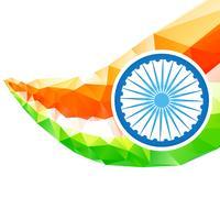konstnärlig indisk flagga