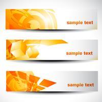 abstract header set