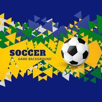 fotbollsdesign vektor