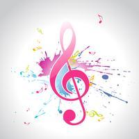 diseño de música vectorial