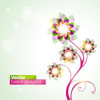 fleur de vecteur