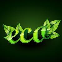 eco achtergrond