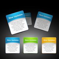 Vektor-Webelement, das in Ihre Website eingefügt werden soll