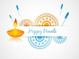 indian diwali festival vector
