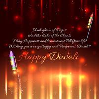 Diwali crackers achtergrond
