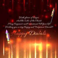 Sfondo di cracker Diwali