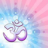Vektor hindu om Symbol