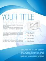 design de brochura comercial criativo