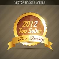top seller label