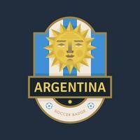 Emblemas do futebol da copa do mundo de Argentina