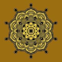 Henna-Kunst-Vektor