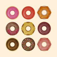 Vector Donuts Illustration