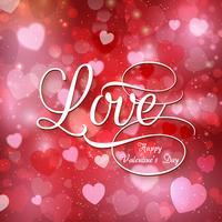 Alla hjärtans kärleksbakgrund