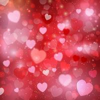 Fondo del corazón del día de San Valentín