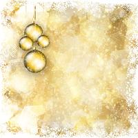 Christmas bauble background 1911