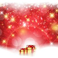Fondo de regalo de navidad