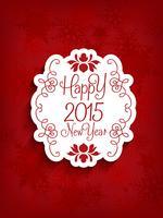 Sfondo decorativo felice anno nuovo