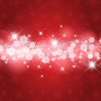 Flocos de neve de Natal e estrelas