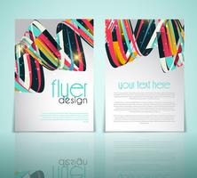 Abstract flyerontwerp