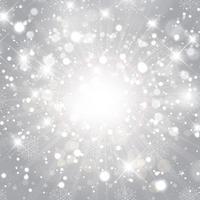 Sfondo di Natale d'argento