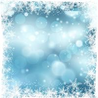 Kerstmis sneeuwachtergrond