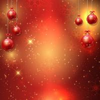 Fond de boule de Noël