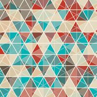 Abstract triangle design background vector