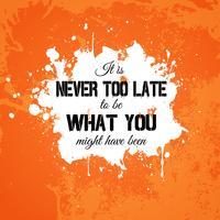 Grunge inspirierend Zitat Hintergrund