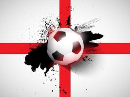 Grunge football / soccer background