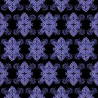 Decorative seamless tile pattern
