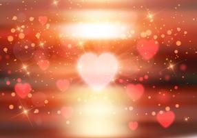 Hjärtan bakgrund