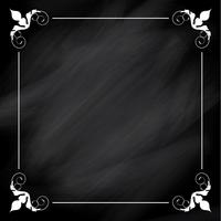 Decorative chalkboard background